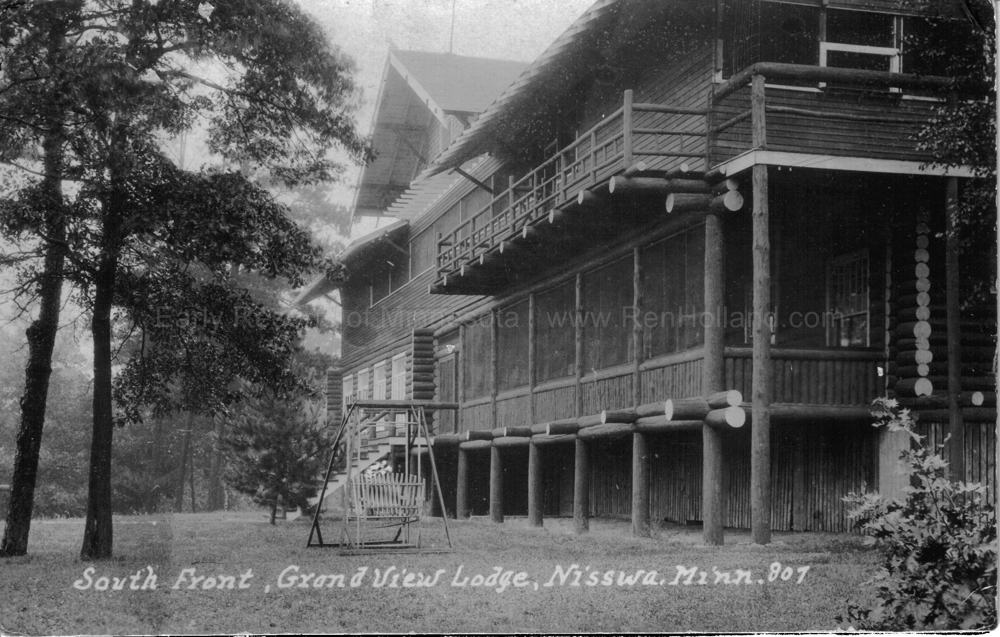 ... 3A Grand View Lodge, Gull Lake, Brainerd, Ca 1927 ...