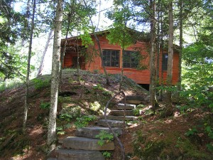 Figure 4: Burntside cabin 2013 (click on image to enlarge, click on back arrow to return)