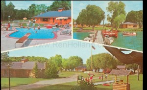 Harner's Tomahawk Lodge, ca 1950s, Blackduck, MN, Blackduck Lake,