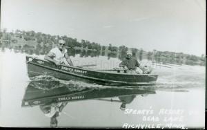 Sperry's Resort in Richville, MN, Dead Lake, ca 1950s