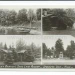 Sturgeon Lake, MN, Sand Lake, Sand Lake Resort (Harley Barton) ca 1940s
