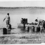 Sunny Point Camp (stocking fish), ca 1940s