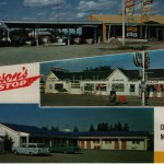 Johnson's One Stop & Motel, ca 1950s (click on image to enlarge)