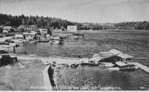 Seaplane base, Shagawa Lake, Ely