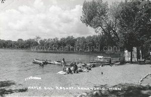Maple Hill Resort, ca 1950